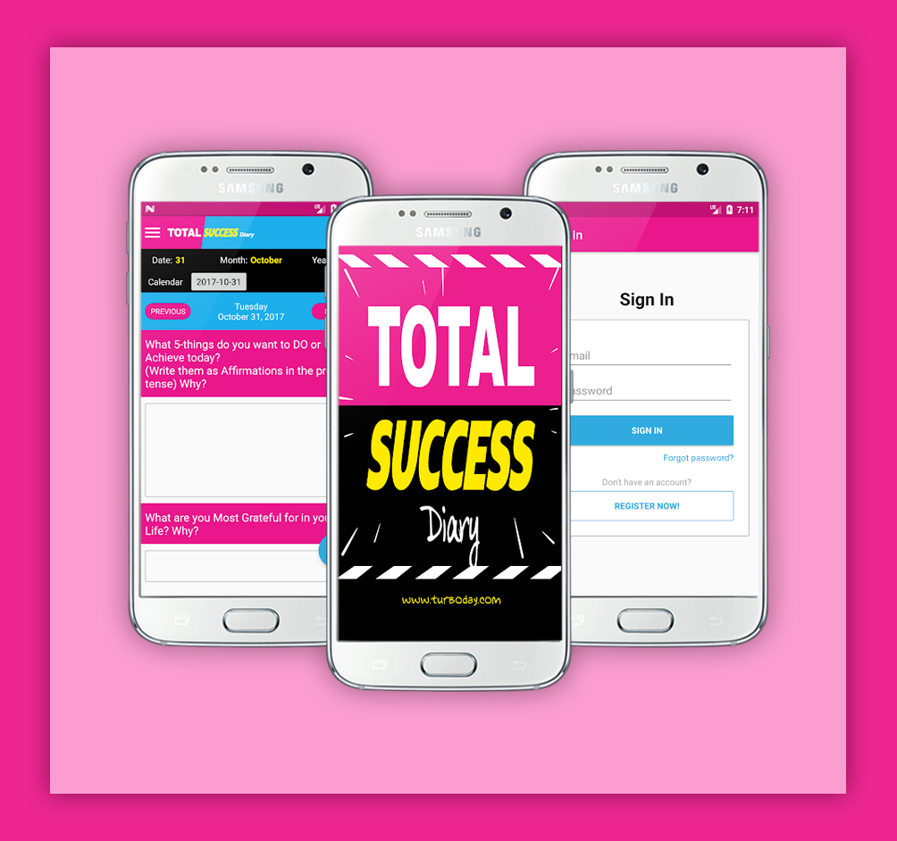 Total Success Diary App Lifestyle App